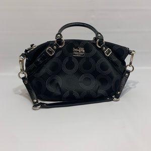 Madison Dotted Sophia Shoulder Bag Tote 15935